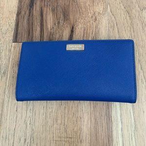 Kate Spade Cedar Street Stacy Royal Blue Wallet